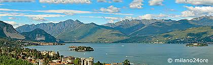 Lago Maggiore Karte Mit Orten.Der Lago Maggiore Mit Stresa Arona Und Borromäischen Inseln