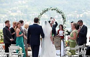Hochzeitzpaar Comer See
